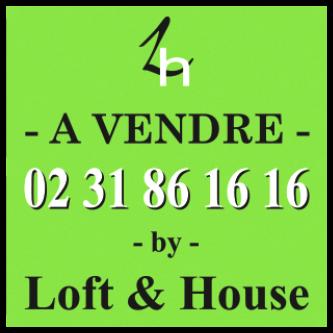 panneau vert à vendre - 02 31 86 16 16 by Loft & House