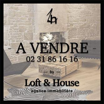 panneau à vendre - 02 31 86 16 16 by Loft & House agence immobilière